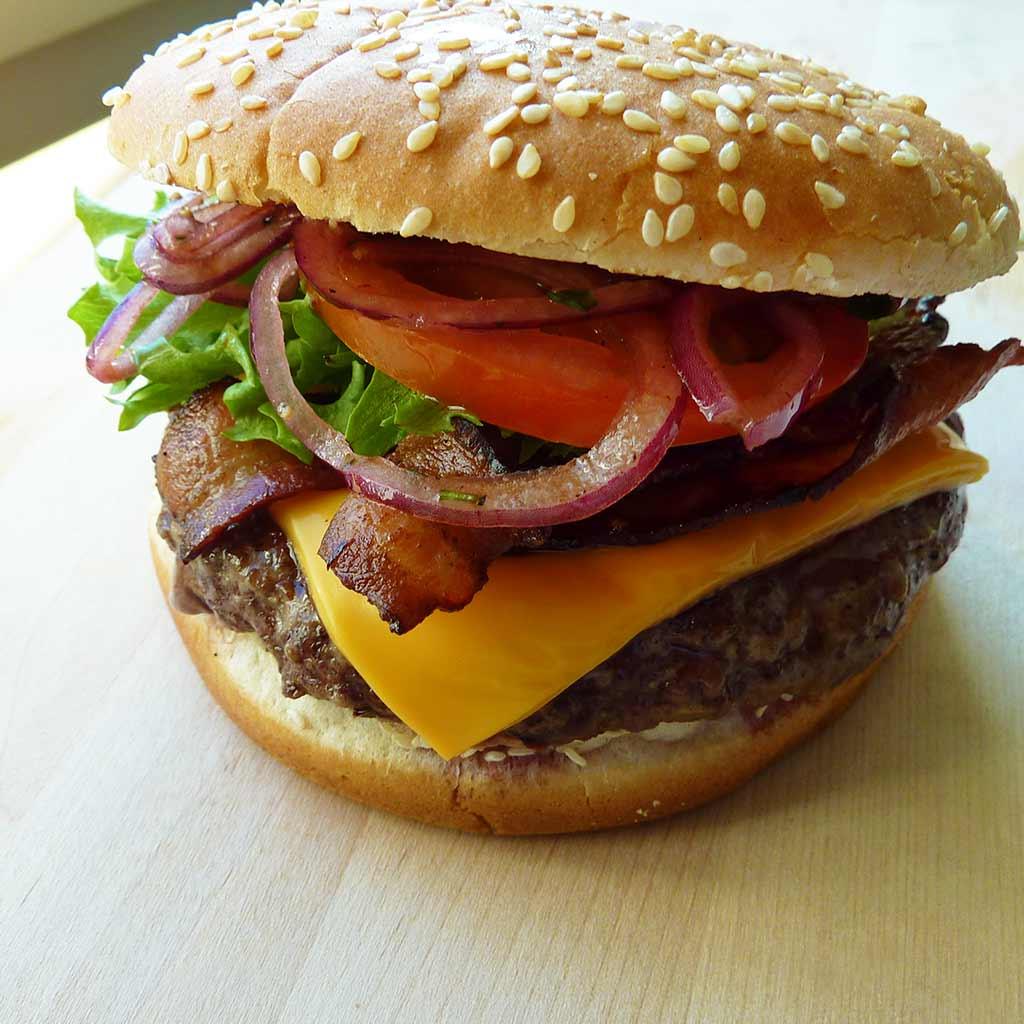 Angus-burger